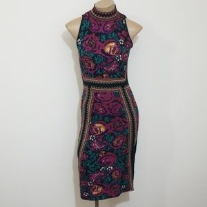 Romeo + Juliet Colorful Turtleneck Dress, Size 6